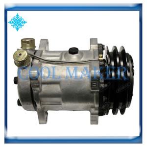 Compressore AC SD7H15 per Ford New Holland 47132887 5165548 5165549 72275276 1106-7001