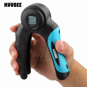 Dito della mano a due LCD pinze Sport fitness ginnico dinamometro presa di forza Calorie Forza regolabile Hand Grip