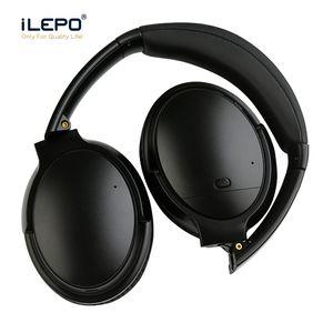 Casque Bluetooth V12 avec suppression du bruit Casque sans fil Micro intégré Rechargeable Bonne qualité Casque ANC Casques d'écoute pk QC35