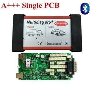 A +++ Tek Yeşil PCB Multidiag Pro + VD TCS CDP Pro Teşhis aracı Bluetooth ile Daha Fazla Araba / Kamyon ve obd OBD2 Tarayıcı