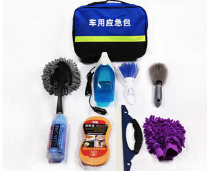 Lavage de voiture outil longue vadrouille à cheveux doux pur coton télescopique poignée balai de lavage de voiture combinaison de costume spécial
