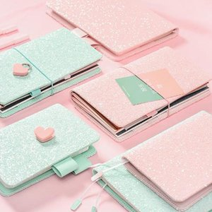 2018 Yiwi Mignon Sequin A5 A6 Hobo Planner Carnet de Voyage Japanese Dairy Stationery