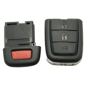 4 Buttons Remote Key Fob Case Shell for Chevrolet Caprice for Holden Commodore VE with 3 + Panic Key Button no blade