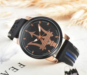 Maserati 2019 Nova prata Das Mulheres Dos Homens De Luxo movimento Automático Assista Big Bang homens Relógios Mecânicos Moda Esportes relógio de Pulso
