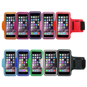 Sport Running Armband Phone Case for iPhone 6 6s 7 8 plus X Antistatic Waterproof Mobile Phone Reflective Bracelet Fitness Armband