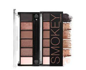 FOCALLURE 6 Colori Palette per ombretti Glamour Smokey Eye Shadow Shimmer Colori Kit per il trucco