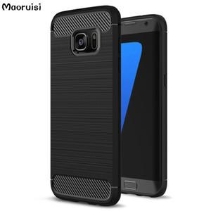 Custodie morbide in fibra di silicone per Samsung Galaxy S7 edge Case per Samsung Galaxy A3 A5 2017 Case S6 S7 S8 J5 Prime Case 35