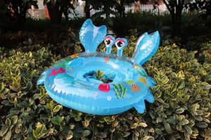 새 어린이 Thought The Crab Boat 동물 동그라미와 그물 천을 동그라미 Baby Floating Circle