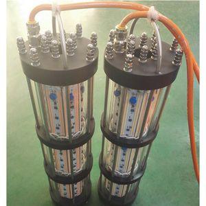 높은 전력 1500W AC240V 화이트 그린 블루 Dimmable 조명 낚시 인공 미끼 LED 낚시 미끼 미끼를 미끼