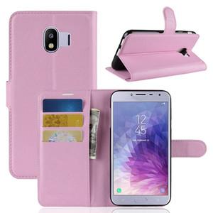 Роскошные личи флип кожаный бумажник Case для Samsung Galaxy J4 2018 J6 HTC U12 PLUS Xiaomi Redmi S2 стенд карты Leechee телефон обложка кожи 5 шт.