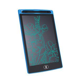 LCD Writing Tablet 8.5 인치 디지털 메모 보드 칠판 필기 패드 성인 키즈 오피스 드로잉 DHL 무료 펜