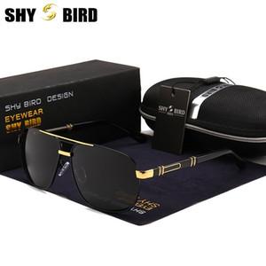 أعلى جودة المضادة للوهج HD الاستقطاب نظارات شمسية رجالية جديد الألومنيوم الطيران نظارات كبيرة الحجم رجل