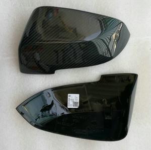 F20 غطاء للرؤية الجانبية لجناح المرآة F30 fit BMW Mirror Covers F31 ألياف الكربون F21 F22 F23 F32 F33 F34 X1 F30 1 2 3 4 series استبدال