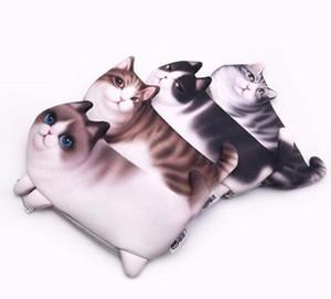 Nuovo stile del fumetto di stile belle donne portamonete portafoglio animale 3D gatto stampa borsa femminile borsa mini portafogli