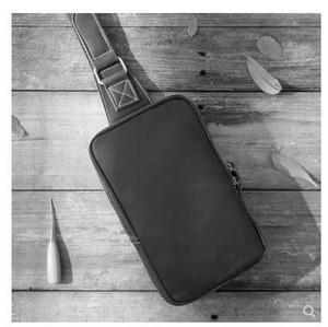 Bolso de pecho clásico caliente de alta calidad Hombres hechos a mano Hombres Sling Bag Cross Body Messenger Bags 4 colores Outdoor Mujer Bolsa de cintura Paquete 44321