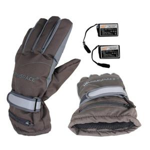Guantes térmicos recargables Usb de esquí de invierno Mittens Moto de nieve cálido Snowboard Ski Gloves C18111501