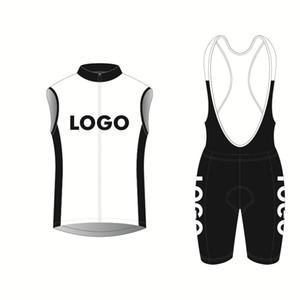 2018 Ropa personalizada Ciclismo ciclo la ropa de las mujeres / hombre del estilo respirable del verano Mtb ciclismo Jersey BIB bicicletas chaleco sin mangas