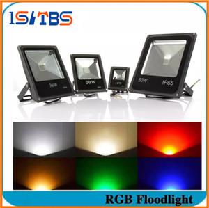 Işıklandırmalı Led RGB 10 W 20 W 30 W 50 W Su Geçirmez Led Spot Dış Aydınlatma Peyzaj Aydınlatma için Led Sel Işık Dışında