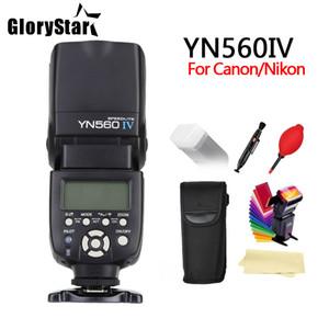 GLORYSTAR YONGNUO YN560 IV 2,4 GHz Wireless-Blitz Speedlite Transceiver Integrated für Canon Nikon Panasonic Pentax Kamera