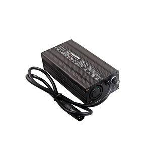 Caricabatteria al litio 300W 54,6V 5A per bici elettrica Caricabatterie bici elettrica 48v con materiale in lega di alluminio