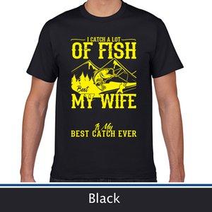Alta calidad Camiseta del verano, mi esposa es mi mejor partido nunca T-Shirt.