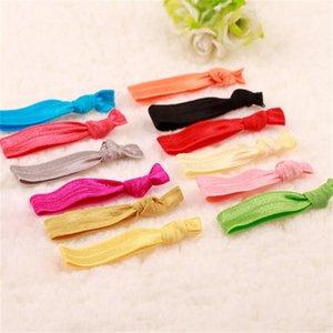 Moda Feminina Corda de Cabelo Colorido Força Elástica Lady Ornament Círculo Gravata De Borracha Corda Favores Do Partido Presente VIP 0 13ag hh