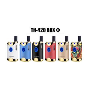 Kangvape TH420 II Box Mod Wax vape Kit TH-420 II 650mAh Battery Adjustable Variable Voltage 0.5ml K1 Atomizer Ceramic Mod Thick Oil Mod