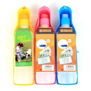 500 ml Pet Malzemeleri Katlanabilir Su pınarı Büyük Köpek Kaseler İçme pot El Düzenlenen Köpek Su Şişeleri 3 1hw WW