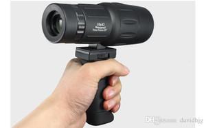 Télescope monoculaire poignée lien télescope monoculaire montre oiseau miroir tenant poignée télescope adaptateur pour la chasse en plein air