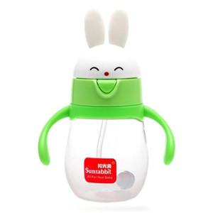 Sunrabbit baby bottle BPA Free Natural Polypropylene 260 320 ml Infant Juice Milk Water Feeding Safe learning R4