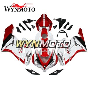 Motorcycle Injection ABS Plastic Fairing Kit For Honda CBR1000RR 2004 2005 CBR 1000RR 04 05 Bodywork Cowlings White Red Free Customize New