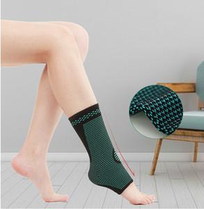 Sports de cheville tricoté été respirant cheville de basket-ball Badminton randonnée genouillères