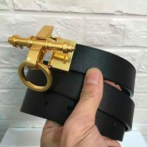 GIV BUCKLE Cintura uomo reversibile Cintura Togo Epsom Qualità Borsa in pelle di struzzo Cintura uomo in vera pelle