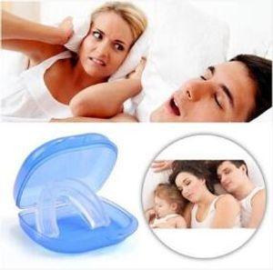 مقبس الأسنان وقف حل الشخير معدات الشخير الشخير معدات البلاستيك الأزرق الرعاية الصحية الحرة الشحن