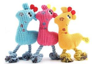 Yeni Köpek Çiğnemek Oyuncak Peluş Mısır Aperatifler Tespit Oyuncak Geyik Şekil Köpek Çürük Diş Bite Oyuncaklar Pet Ürünleri 26 * 16 cm 3 Renkler