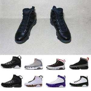 2018 nouveaux hommes Chaussures de basket-ball 9 IX haute qualité Sneakers Trainer OG cool espace gris chaussures de sport en plein air homme nouveau concepteur de race