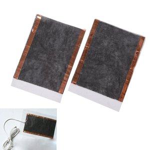 2 pcs portátil diy usb aquecimento aquecedor de inverno quente placa para sapatos luvas mouse pad