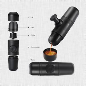 Minipresso Französisch Press Kaffeemaschine tragbare Mini-Kaffee-Presse-Maschine im Freien Kaffeekanne für Auto 2018 Reisehandtrinkgefäße Werkzeuge