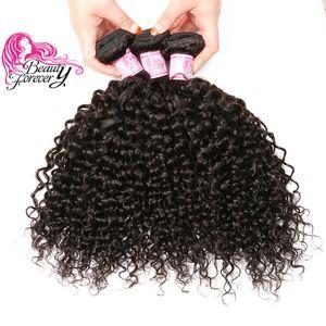 Bellezza per sempre 8a malese capelli ricci 3 pacchi 8-26 pollici capelli umani colore naturale all'ingrosso estensione dei capelli di buona qualità a buon mercato tessuto fasci