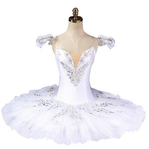 Dormir beauté blanc ballet professionnel tutu Classique ballet tutus blanc cygne lac ballet costumes de scèneBT8926
