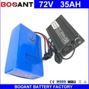 BOOANT E-Bike batería de ion-litio 72V 35AH para Bafang 3000W Motor batería eléctrica de bicicleta 72V 20S 14P batería + 5A cargador