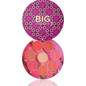 신제품 출시 BIG Blush BOOK 3 색 블러쉬 팔레트 블러쉬 형광펜 한정판 DHL 무료 배송