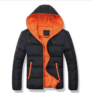 Men Jacket 2017 New Brand High Quality Candy Color Warmth Mens Jackets And Coat Thick Parka Men Outwear Jaqueta masculina