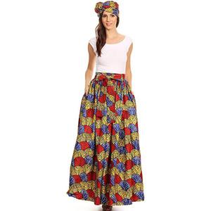 High Quality Causal Maxi Skirt Women Summer Fashion Irregular Frilled Wrap Asymmetrical Hem Maxi Skirt Ypf53