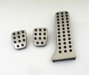 pedales de coches Accesorios para automóviles de aluminio para Mazda 3 Mazda 6 CX-5 Axela Atenza AT / MT pedal del acelerador del pedal del freno del reposapiés del pedal