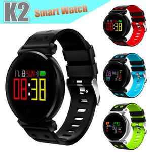 K2 Bluetooth Runde Smartwatch Wasserdichte IP68 Puls / Blutdruck / Blutsauerstoff Smart Watch für iOS / Android Handys