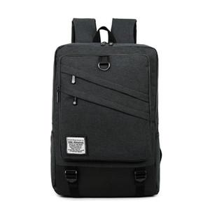Moda Erkekler ve Kadınlar Laptop Sırt Çantası 15.6 / 17 İnç Sırt Çantası Okul Çantası Seyahat su geçirmez sırt çantası Erkek Notebook Bilgisayar Çantası