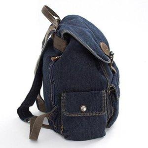 Mulheres Moda Mochila de alta qualidade Juventude Denim Mochilas Meninas Adolescentes Feminino Escola Shoulder Bag formal Estilo Viagem Bagpack
