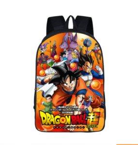 Dragonball Için süper Moda Sırt Çantası Çocuk Okul Çantaları Erkek Kız Genç Bagpack Okul Kadın Erkek Eğlence çantası SB27