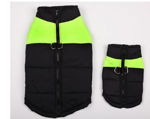 Più caldo Plus Size Inverno caldo vestiti per cani Cotone Big Dog Abbigliamento Golden Retriever Giacca cappotto antivento per cani piccoli cani di taglia media